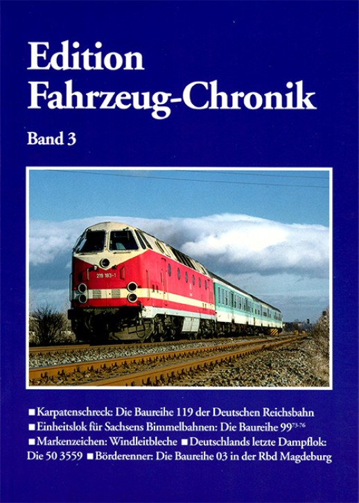 Edition Fahrzeug-Chronik Band 3