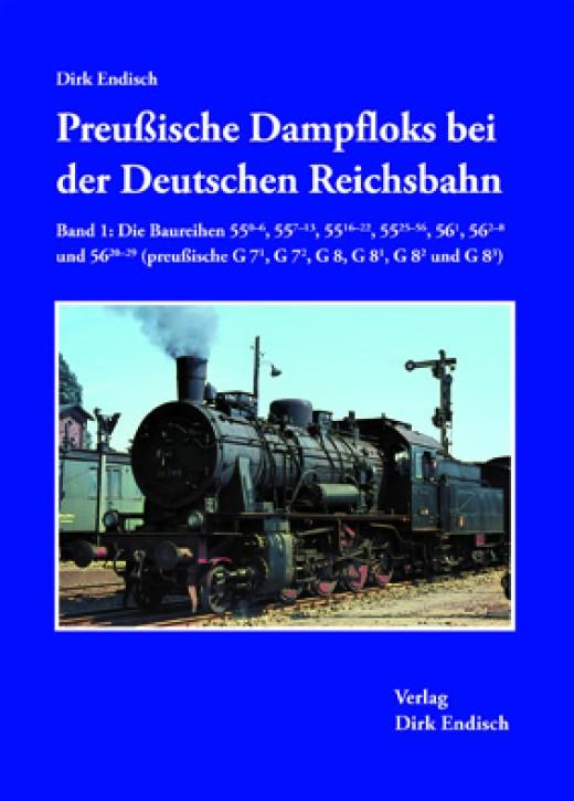 Preußische Dampfloks bei der Deutschen Reichsbahn Band 1. Die Baureihen 55.0–6, 55.7–13, 55.16–22, 55.25–56, 56.1, 56.2–8 und 56.20–29 (preußische G 71, G 72, G 8, G 81, G 82 und G 83). Dirk Endisch