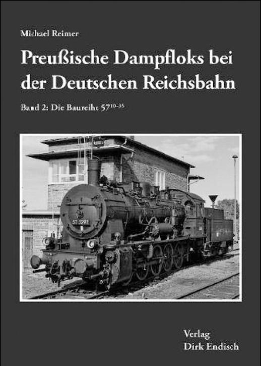 Preußische Dampfloks bei der Deutschen Reichsbahn Band 2. Die Baureihe 57.10-35 (ehemalige preußische G 10). Michael Reimer