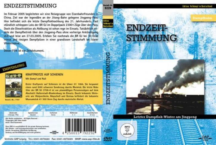 DVD: Endzeitstimmung. Letzter Dampflok-Winter am Jingpeng-Pass