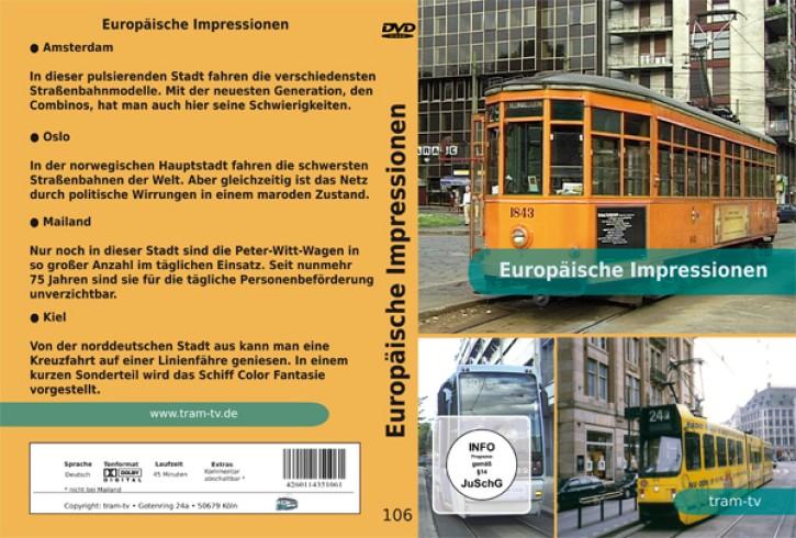 DVD: Europäische Impressionen