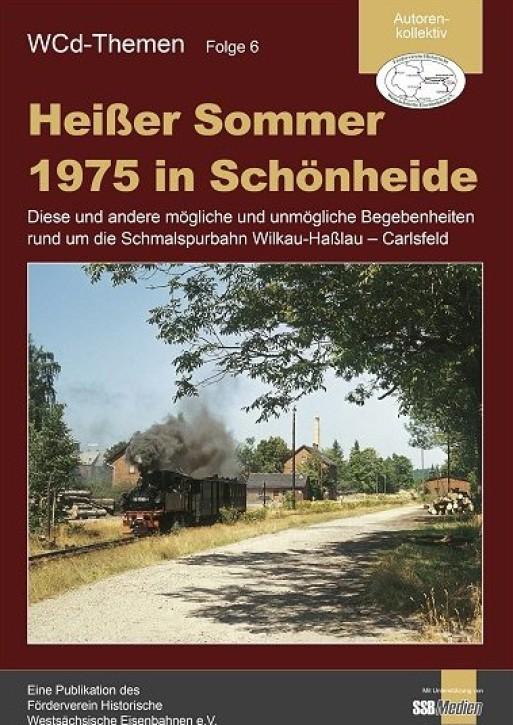 Heißer Sommer 1975 in Schönheide ... Schmalspurbahn Wilkau-Haßlau - Carlsfeld