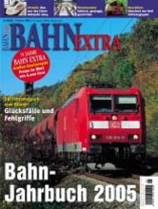 BAHN EXTRA: Bahn-Jahrbuch 2005