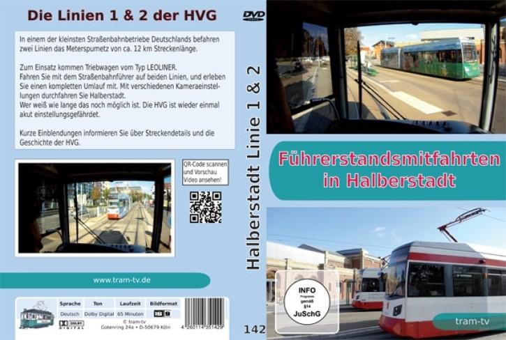 DVD: Führerstandsmitfahrten in Halberstadt