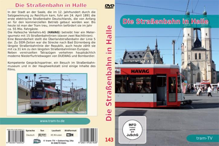 DVD: Die Straßenbahn in Halle