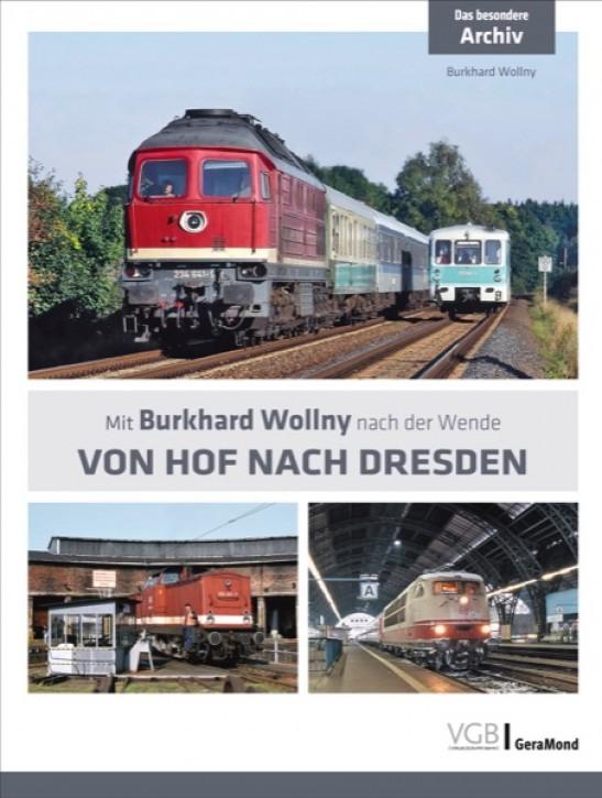 Das besondere Archiv. Von Hof nach Dresden. Mit Burkhard Wollny nach der Wende