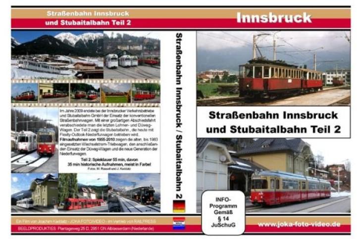 DVD: Straßenbahn Innsbruck und Stubaitalbahn Teil 2
