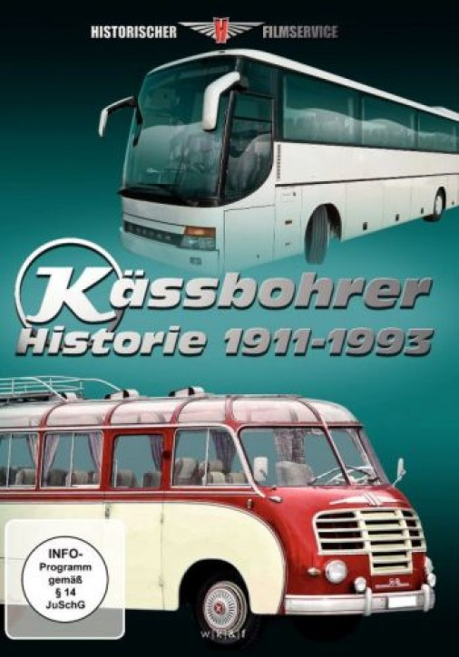 DVD: Kässbohrer: Busse - Krane - Straßenroller. Historie 1911-1993