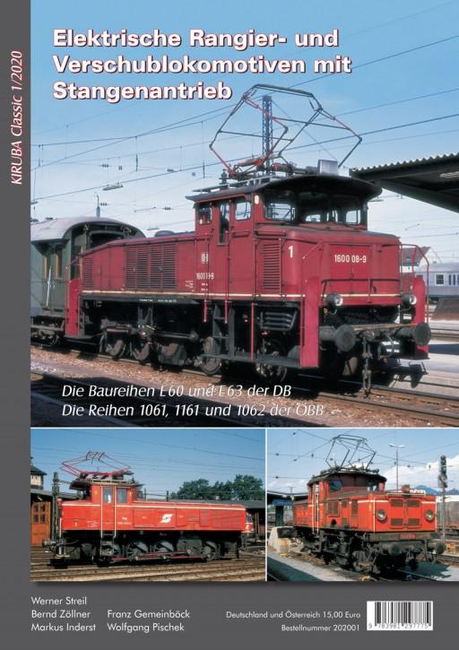 Kiruba Classic 1-2020: Elektrische Rangier- und Verschublokomotiven mit Stangenantrieb
