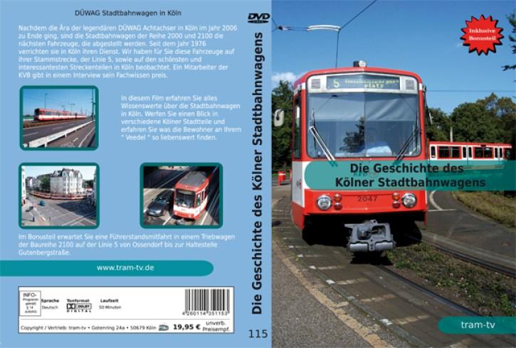DVD: Die Geschichte des Kölner Stadtbahnwagens