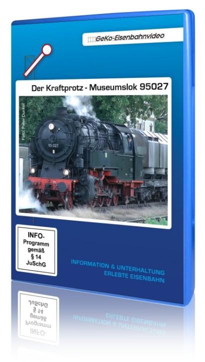 DVD: Der Kraftprotz - Museumslok 95027
