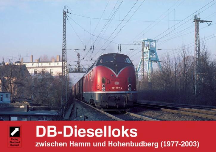 DB-Dieselloks zwischen Hamm und Hohenbudberg (1977-2003). Eberhard Kuckert