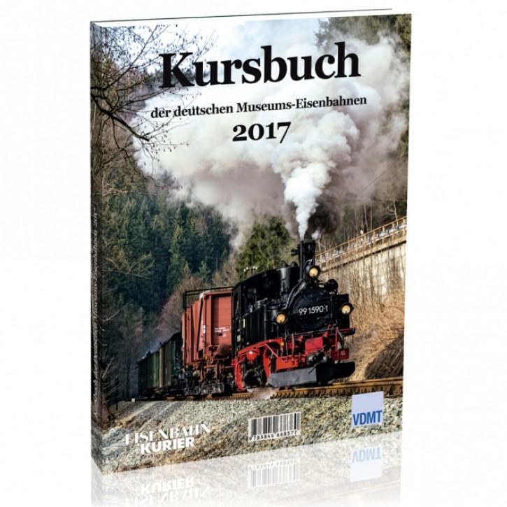 Kursbuch der deutschen Museumseisenbahnen 2017