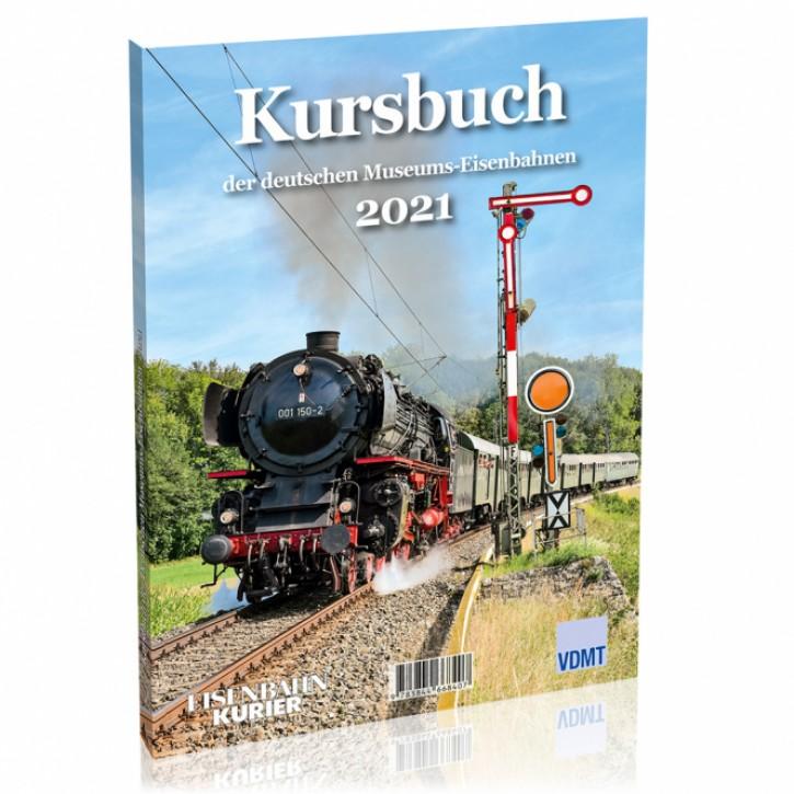 Kursbuch der deutschen Museumseisenbahnen 2021