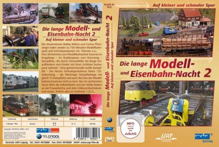 DVD: Die lange Modell- und Eisenbahnnacht 2. Auf kleiner und schmaler Spur (MDR)