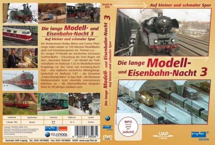 DVD: Die lange Modell- und Eisenbahnnacht 3. Auf kleiner und schmaler Spur (MDR)