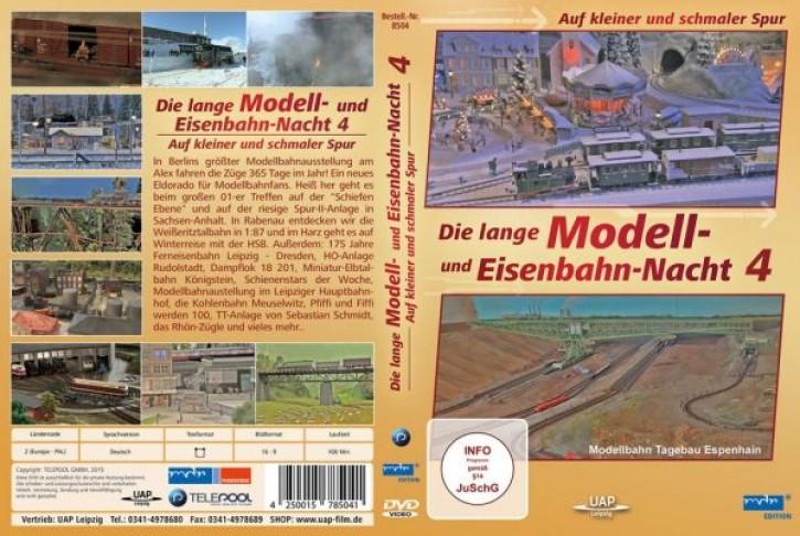 DVD: Die lange Modell- und Eisenbahnnacht 4 - Auf kleiner und schmaler Spur (MDR)
