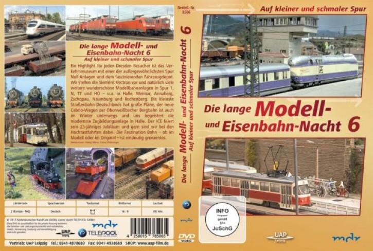 DVD: Die lange Modell- und Eisenbahnnacht 6. Auf kleiner und schmaler Spur (MDR)