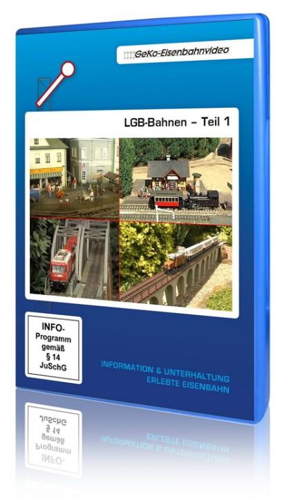 DVD: LGB-Bahnen Teil 1