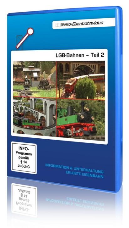 DVD: LGB-Bahnen Teil 2