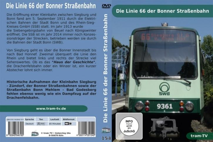 DVD: Die Linie 66 der Bonner Straßenbahn
