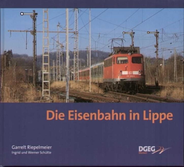 Die Eisenbahn in Lippe. Garrelt Riepelmeier, Werner und Ingrid Schütte