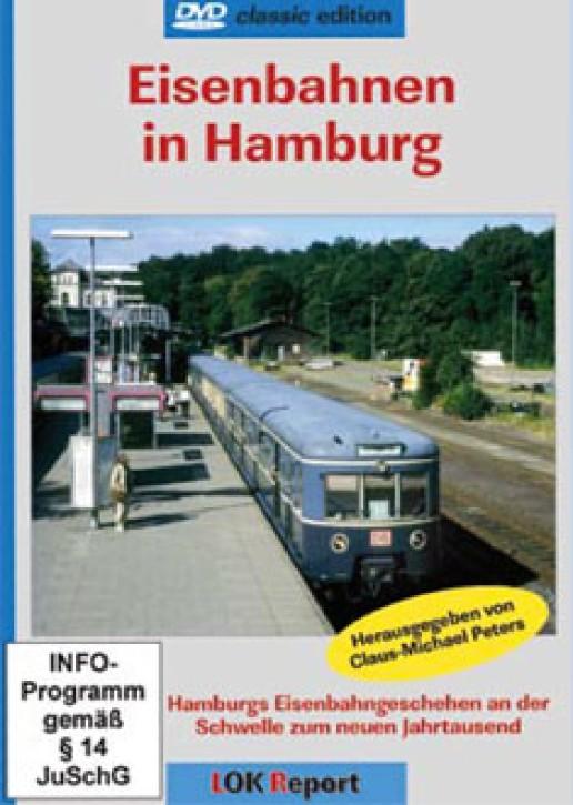 DVD: Eisenbahnen in Hamburg