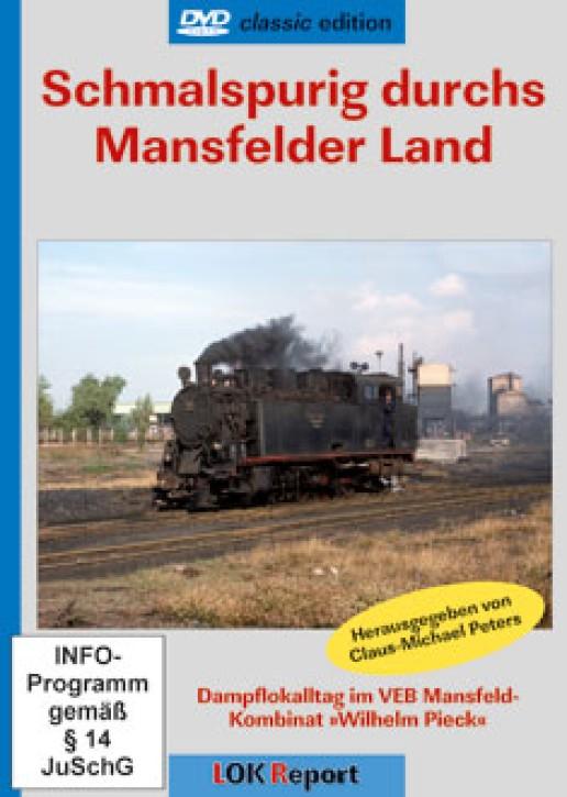 DVD: Schmalspurig durchs Mansfelder Land