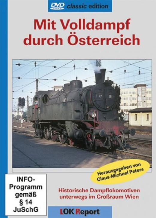 DVD: Mit Volldampf durch Österreich