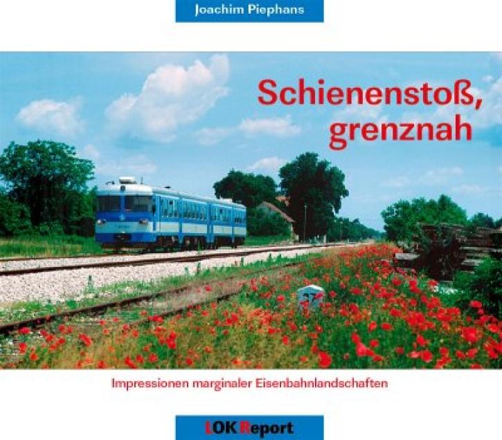 Schienenstoß, grenznah. Joachim Piephans