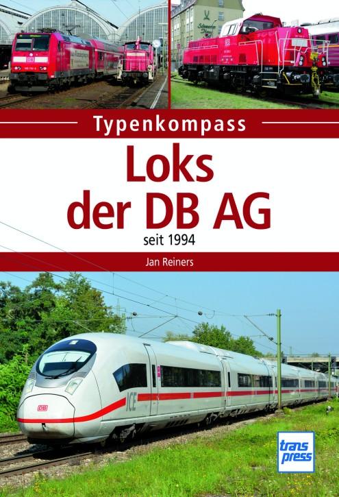 Loks der DB AG seit 1994. Jan Reiners