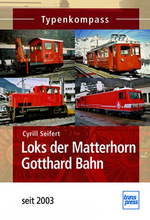 Loks der Matterhorn Gotthard Bahn - seit 2003. Cyrill Seifert