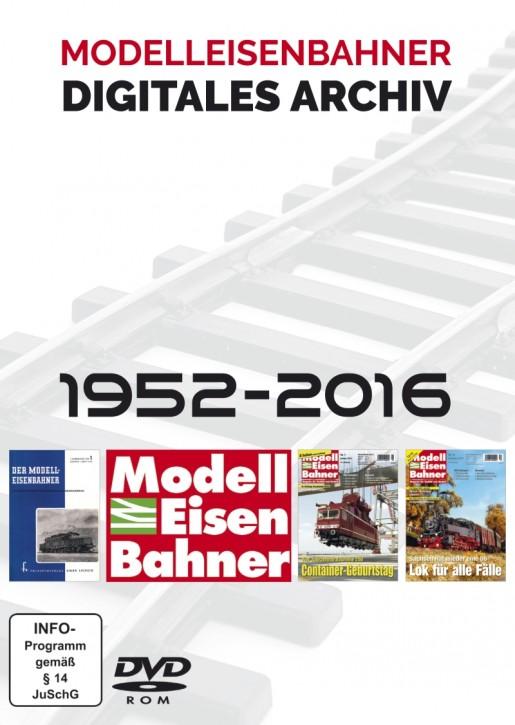 DVD-Rom: Modelleisenbahner: Das digitale Gesamtarchiv 1952-2016