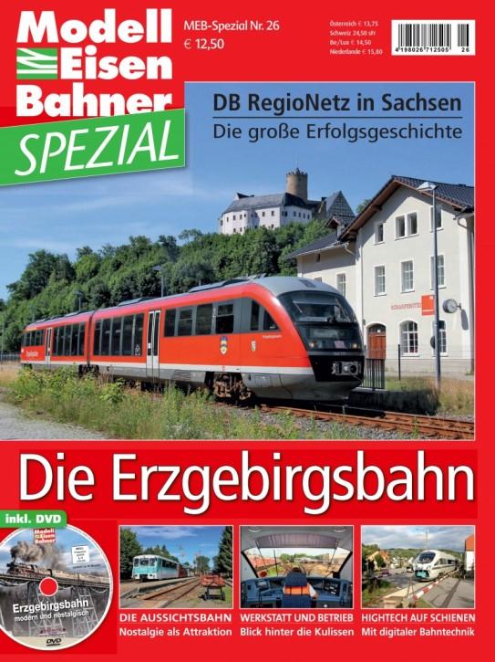 MEB-Spezial 26: Erzgebirgsbahn