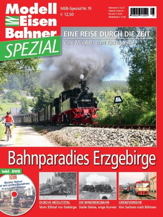 MEB Spezial: Bahnparadies Erzgebirge. Eine Reise durch die Zeit - Vom Müglitz- zum Zschopautal