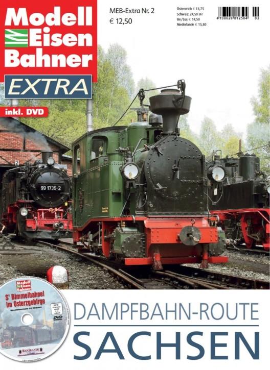 Modelleisenbahner Extra 2: Dampfbahnroute Sachsen