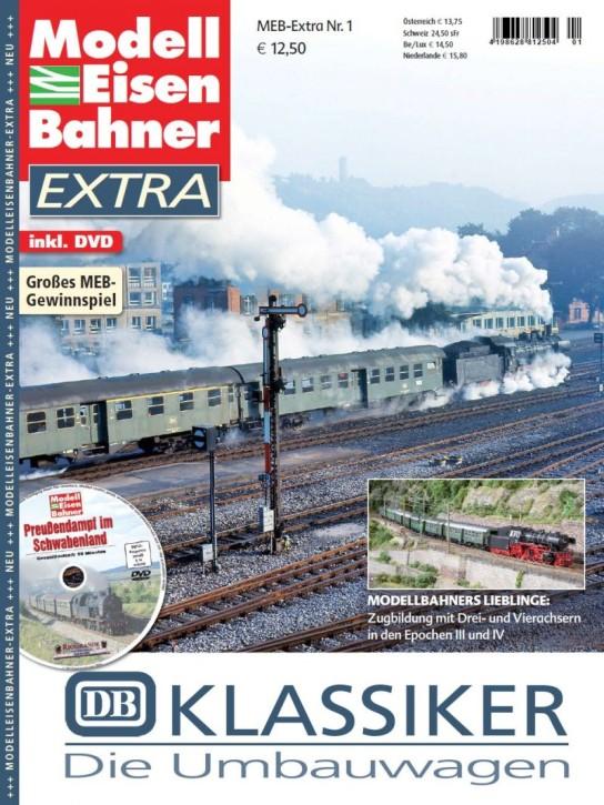 Modelleisenbahner Extra: DB Klassiker. Die Umbauwagen