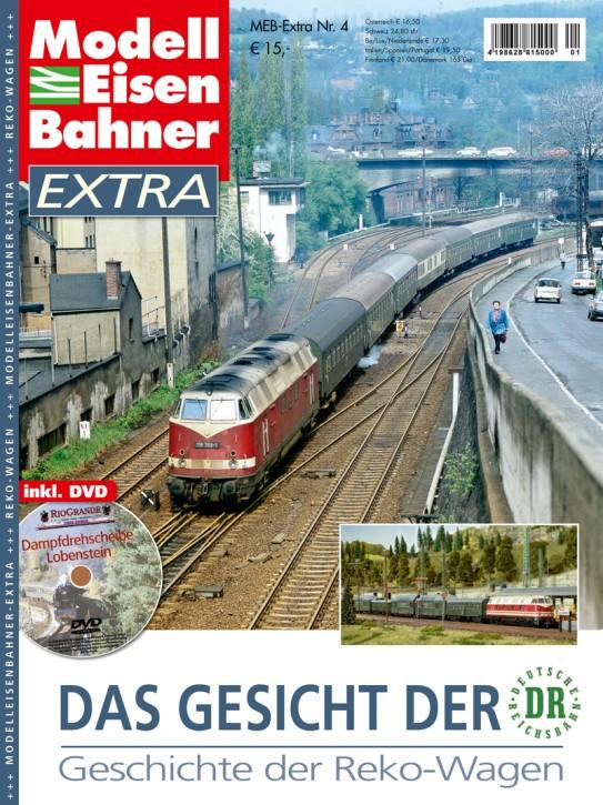 Modelleisenbahner Extra 4: Das Gesicht der DR. Geschichte der Rekowagen