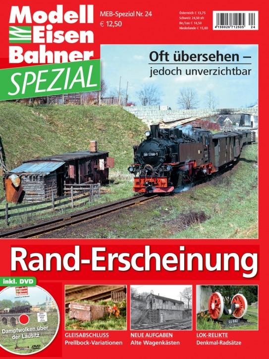 ModellEisenBahner Spezial 24: Rand-Erscheinung