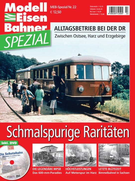Modelleisenbahner Spezial 2-2016: Schmalspurige Raritäten