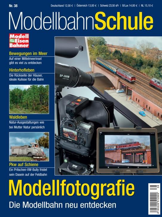 MEB Modellbahn Schule 38: Modellfotografie. Die Modellbahn neu entdecken