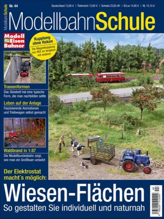 Modellbahn Schule 44: Wiesen-Flächen