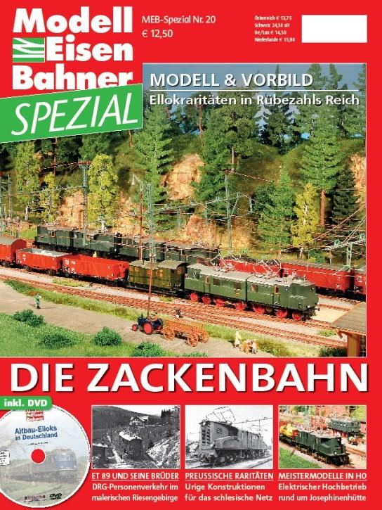 MEB Spezial: Die Zackenbahn. Schlesische Gebirgsbahn im Modell