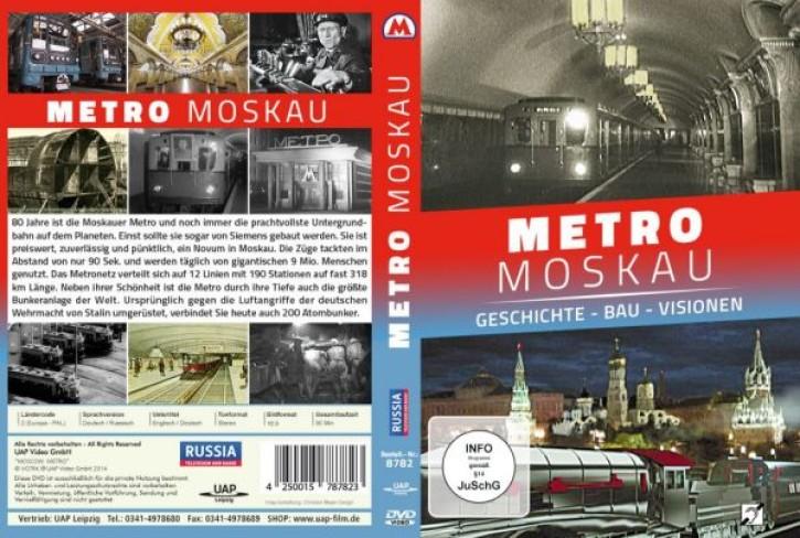 DVD: METRO MOSKAU. Geschichte - Bau - Visionen