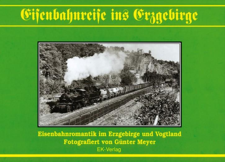 Eisenbahnreise ins Erzgebirge. Günter Meyer