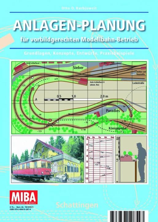 MIBA-Planungshilfen: Anlagen-Planung für vorbildgerechten Modellbahn-Betrieb
