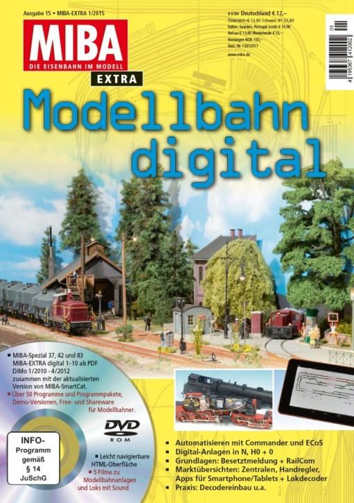 MIBA EXTRA: Modellbahn digital 15