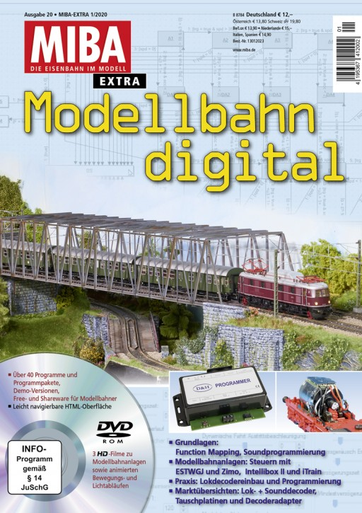 MIBA Extra: Modellbahn digital 20