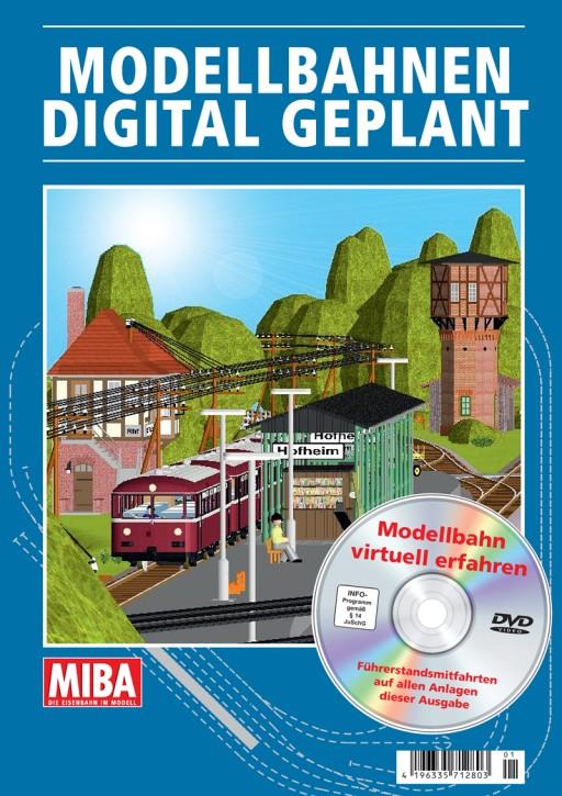 MIBA Planungshilfen: Modellbahnen digital geplant