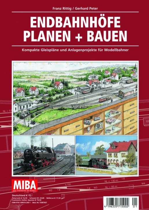 MIBA-Planungshilfen: Endbahnhöfe planen und bauen. Kompakte Gleispläne und Anlagenprojekte für Modellbahner
